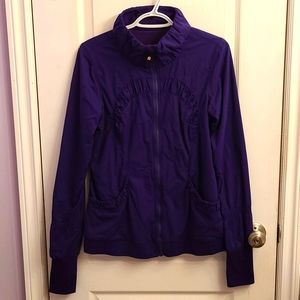 HP💜RARE Lululemon Off to Class Jacket, Lolo P…